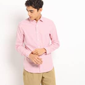 ドレステリア DRESSTERIOR ストライプコットンシャツ (レッド)
