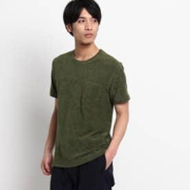 ドレステリア DRESSTERIOR GUY ROVER パイルTシャツ (モスグリーン)