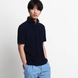 ドレステリア DRESSTERIOR GUY ROVER パイルポロシャツ (ブルー系)