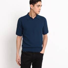 ドレステリア DRESSTERIOR COOLPOTTER2 かのこスキッパーポロシャツ (ブルー)