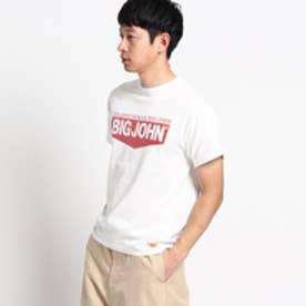 ドレステリア DRESSTERIOR BIG JOHN ロゴプリントTシャツ (ホワイト)