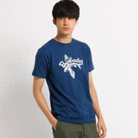 ドレステリア DRESSTERIOR プリントTシャツ FLYING FISH TEE (ブルー)