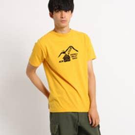 ドレステリア DRESSTERIOR プリントTシャツ CAMP TEE (イエロー)
