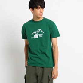 ドレステリア DRESSTERIOR プリントTシャツ CAMP TEE (グリーン)
