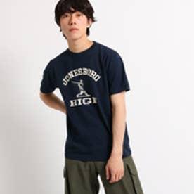 ドレステリア DRESSTERIOR Violet Buffalo Wallows Tシャツ ロゴイラスト TEE (ブルー系)