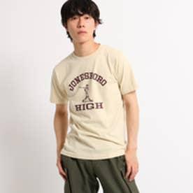 ドレステリア DRESSTERIOR Violet Buffalo Wallows Tシャツ ロゴイラスト TEE (ベージュ)