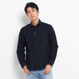 ドレステリア DRESSTERIOR 【洗える】Violet Buffalo Wallows ネルシャツ (ブルー系)
