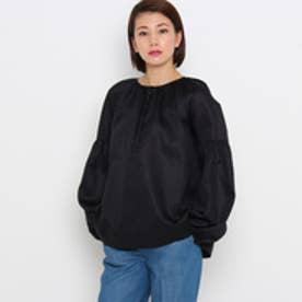 ドレステリア DRESSTERIOR ◆J&M DAVIDSON ボリュームスリーブシャツ (ブラック)