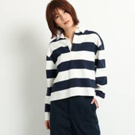 ドレステリア DRESSTERIOR ラガーシャツ (ネイビー)