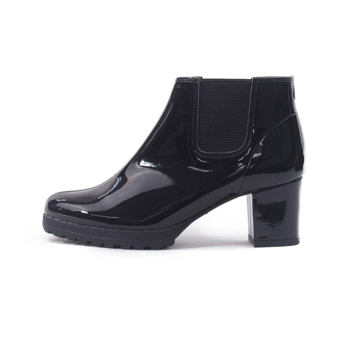 エスペランサ ESPERANZA ヒールアップサイドゴアレインショートブーツ (ブラック)