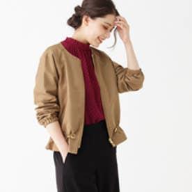 グローブ grove 【WEB限定サイズあり】ドロストデザインジャケット (ベージュ)