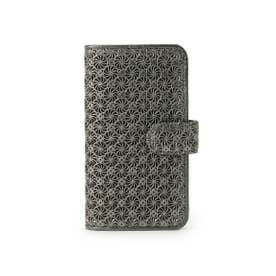 ヒロコ ハヤシ HIROKO HAYASHI GIRASOLE(ジラソーレ) 手帳型iPhoneケース (ブラック)
