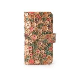 ヒロコ ハヤシ HIROKO HAYASHI ERENDHIRA(エレンディラ) 手帳型iPhoneケース (マルチカラー)