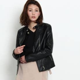 オゾック OZOC ライダースジャケット (ブラック)