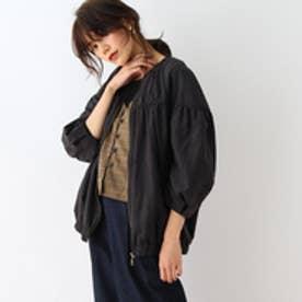 オゾック OZOC ボリューム袖ジャケット (ブラック)