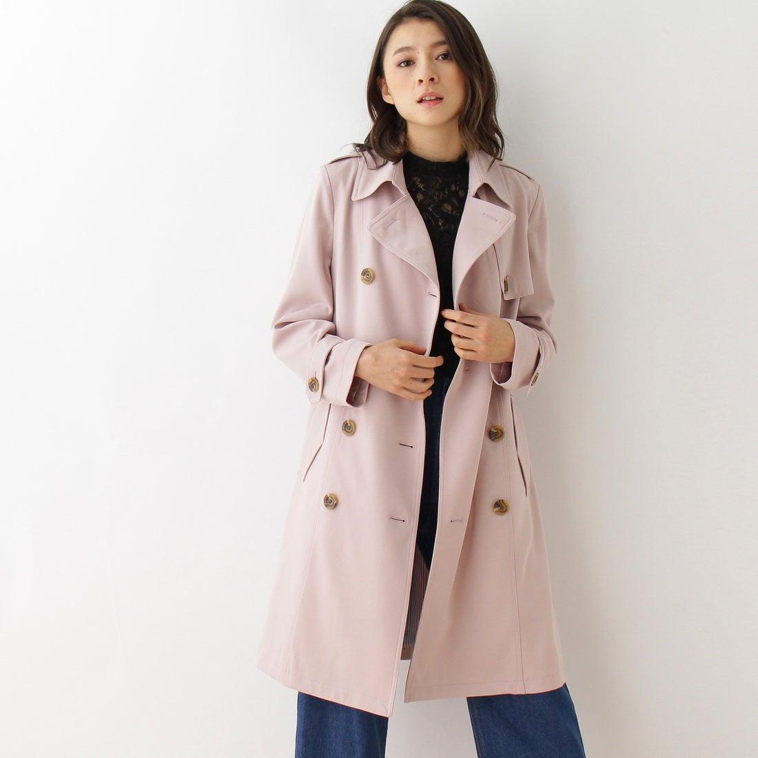 2750ddeb63b5d オゾック OZOC ベーシックトレンチ (ピンク) -靴&ファッション通販 ロコンド〜自宅で試着、気軽に返品