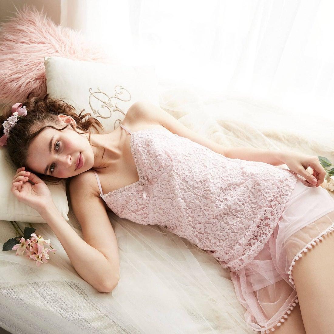 リサマリ Risa Magli エミー カップ付きキャミソール 【返品不可商品】 (ピンク)
