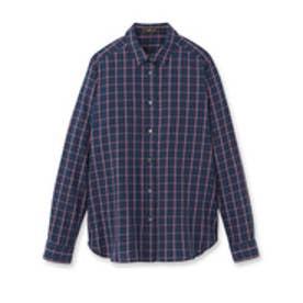 リフレクト Reflect インディゴチェックシャツ (レッド)