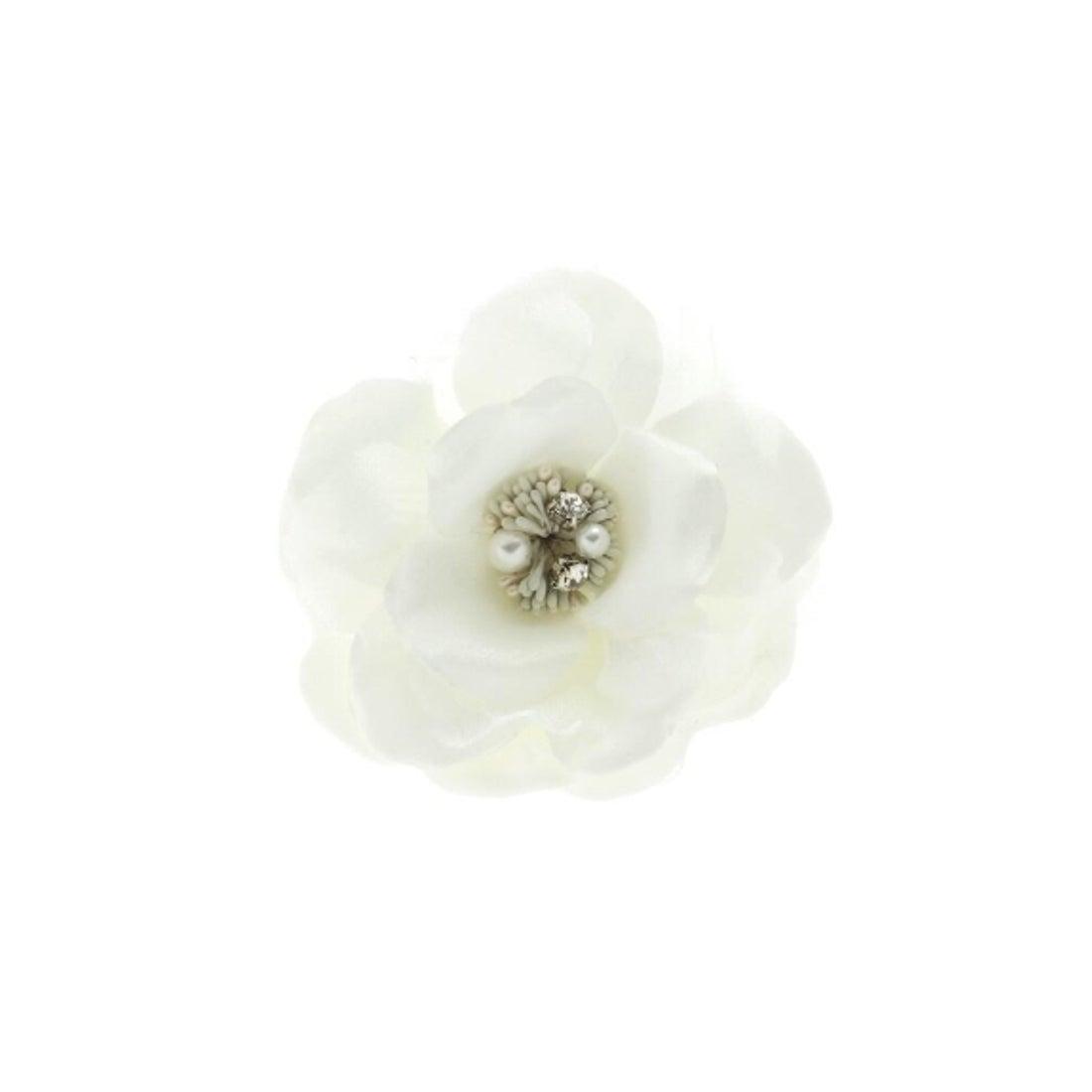 スーナウーナ SunaUna 【ママスーツ/入学式 スーツ/卒業式 スーツ】ピオニーコサージュ (オフホワイト)