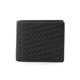 タケオ キクチ TAKEO KIKUCHI 〆メッシュ3方ラウンド 二つ折り財布 (ネイビー)