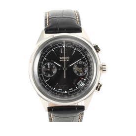 タケオ キクチ TAKEO KIKUCHI 2レジスタークロノグラフ時計 (ブラック)