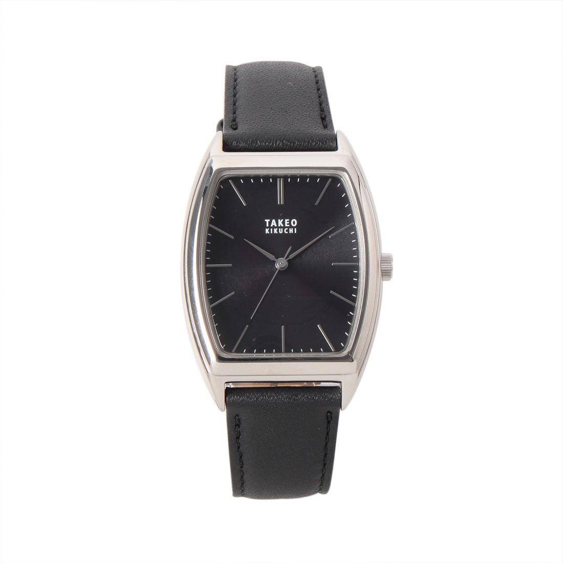 タケオ キクチ TAKEO KIKUCHI トノー ソーラー時計 【メンズ ウォッチ 腕時計】 (ブラック)