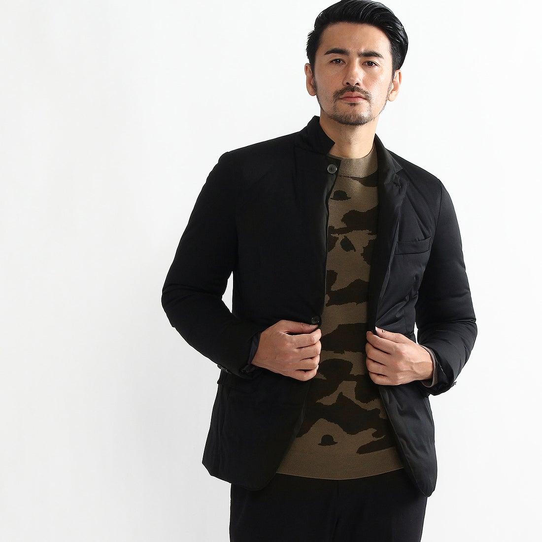 【SALE 70%OFF】タケオ キクチ TAKEO KIKUCHI CS_パッカブルストレッチダウンジャケット (ブラック)