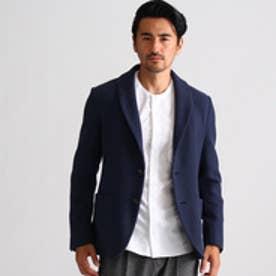 タケオ キクチ TAKEO KIKUCHI ショールカラージャケット Fabric by soktas (ネイビー)