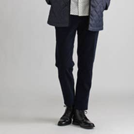タケオ キクチ TAKEO KIKUCHI コーデュロイキュービック加工5ポケットパンツ (ブルー系)