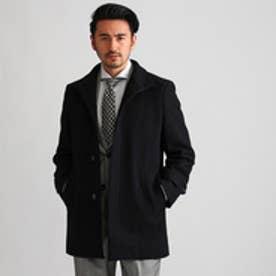 タケオ キクチ TAKEO KIKUCHI [TALL&LARGEサイズ]カシミヤ混メルトンコートドレス (ブラック)