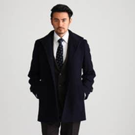 タケオ キクチ TAKEO KIKUCHI [TALL&LARGEサイズ]カシミヤ混メルトンコートドレス (ブルー系)