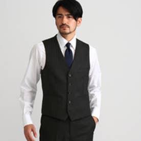 タケオ キクチ TAKEO KIKUCHI ウールモヘアオルタネートシングルベスト (ブラック)