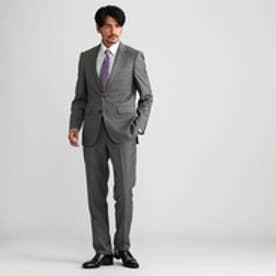 タケオ キクチ TAKEO KIKUCHI シャドーストライプスーツfabric by Dormeuil EXEL (ダークグレー)