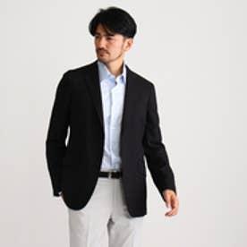 タケオ キクチ TAKEO KIKUCHI CS_ウォッシャブルヘリンボンジャケット (ブラック)