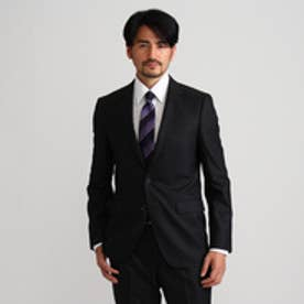 タケオ キクチ TAKEO KIKUCHI シャイニーヘリンボンシングルジャケット (ブラック)