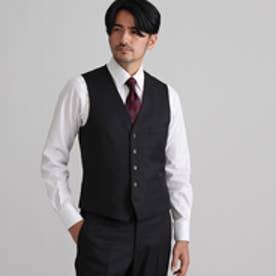 タケオ キクチ TAKEO KIKUCHI ドーメルシャドーストライプシングルベスト (ブラック)
