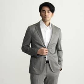 タケオ キクチ TAKEO KIKUCHI 【多機能】CS_36G-T400モックロディテーラードジャケット (チャコールグレー)