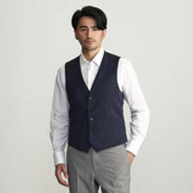 タケオ キクチ TAKEO KIKUCHI カラーオルタネイトストライプベスト (ネイビー)