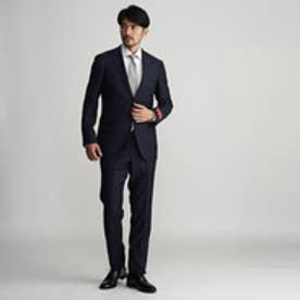 タケオ キクチ TAKEO KIKUCHI ピンヘッドシングルスーツ (ネイビー)