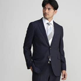 タケオ キクチ TAKEO KIKUCHI 【多機能】CS_スモールチェックシングルジャケット (ネイビー)