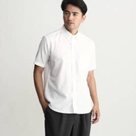 タケオ キクチ TAKEO KIKUCHI 【速乾】ナチュラルストレッチ半袖シャツ (ホワイト)