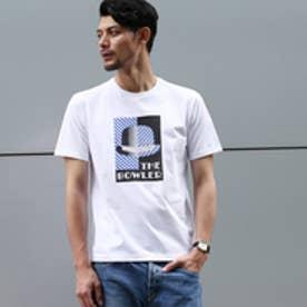 タケオ キクチ TAKEO KIKUCHI アールデコボーラープリントTシャツ (ホワイト)