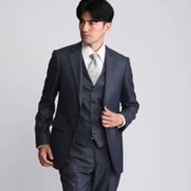 タケオ キクチ TAKEO KIKUCHI 【撥水】シャイニーピンヘッドシングルジャケット (ネイビー)