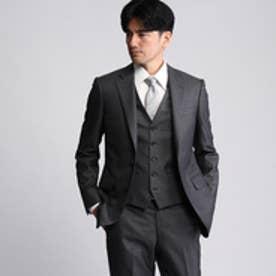 タケオ キクチ TAKEO KIKUCHI 【撥水】シャイニーピンヘッドシングルジャケット (グレー)