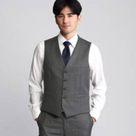 タケオ キクチ TAKEO KIKUCHI シャドーストライプシングルベスト (グレー)