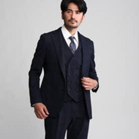 タケオ キクチ TAKEO KIKUCHI CS_2WAYグレンチェックジャケット (ネイビー)
