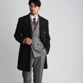 タケオ キクチ TAKEO KIKUCHI 矢絣柄コート【Product Notes Japan】 (ブラウン)
