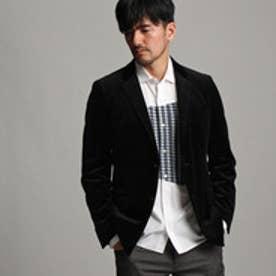 タケオ キクチ TAKEO KIKUCHI ギルメスベルベットジャケット (ブラック)