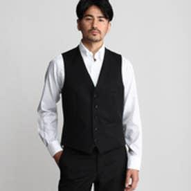 タケオ キクチ TAKEO KIKUCHI サージシングルベスト (ブラック)