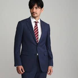 タケオ キクチ TAKEO KIKUCHI 【撥水】ダブルツイストストライプシングルジャケット (ネイビー)